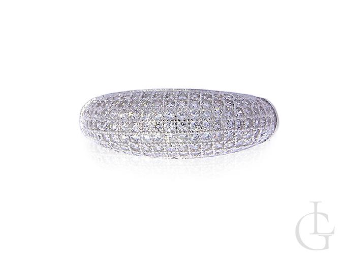 602221ae20cbc2 srebrny pierścionek obrączka cyrkonie srebro rodowane 0.925 biżuteria  srebrna modna wzory