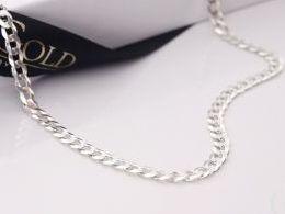 łańcuszek srebrny damski męski pancerka prezent dla żony dziewczyny na urodziny imieniny pod choinkę walentynki dla ukochanej srebro 0.925