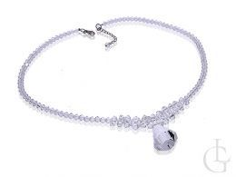 swarovski naszyjnik damski kryształy Swarovskiego biżuteria ślubna i wieczorowa
