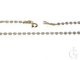 łańcuszek złoty damski pełny splot GUCCI złoto żółte 0.585 14K