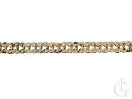 złota bransoletka damska łańcuszek złoto żółte 0.585 14ct