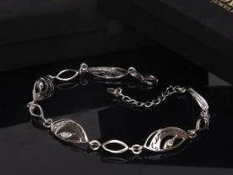 elegancka bransoletka damska szeroka na nadgarstku na ręce na prezent dla żony dziewczyny