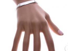 bransoletka srebrna damska męska łańcuszek blaszka  splot bismark bismarck realne zdjęcie zdjęcia prezent dla żony dziewczyny na urodziny imieniny rocznicę upominek pod choinkę na walentynki różne wzory bransoletek srebrnych damskich