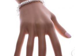 bransoletka srebrna damska szeroka splot królewski gruba na ręce modelce realne zdjęcie zdjęcia prezent dla żony dziewczyny na urodziny imieniny rocznicę upominek pod choinkę na walentynki różne wzory bransoletek srebrnych damskich