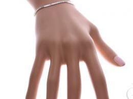bransoletka srebrna damska celebrytka łańcuszkowa diamentowana splot realne zdjęcie zdjęcia prezent dla żony dziewczyny na urodziny imieniny rocznicę upominek pod choinkę na walentynki różne wzory bransoletek srebrnych damskich