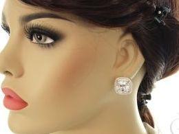 kolczyki srebrne angielskie zapięcie srebro realne zdjęcia na modelce uchu kolczyki srebrne na prezent dla żony dziewczyny urodziny imieniny rocznicę pakowanie na prezent