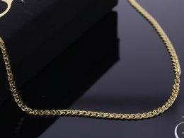 łańcuszek złoty monaliza monalisa złoto 585 14K damski męski pancerka i na prezent do kompletu łańcuszki srebrne damskie męskie realne zdjęcia na modelce szyi łańcuszek złoty na prezent na urodziny imieniny chrzciny rocznicę komunię walentynki pod choinkę