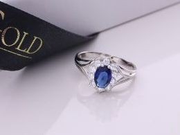 pierścionek srebrny szafir szafirem markiza z cyrkoniami cyrkonie pierścionki srebrne realne zdjęcie na palcu dłoni na prezent urodziny imieniny pod choinkę na prezent dla dziewczyny żony