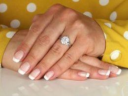 pierścionek srebrny z cyrkoniami markiza cyrkonie pierścionki srebrne realne zdjęcie na palcu dłoni na prezent urodziny imieniny pod choinkę na prezent dla dziewczyny żony