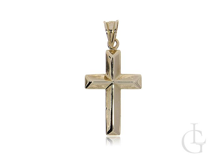 Krzyżyk ze złota pr.0,585