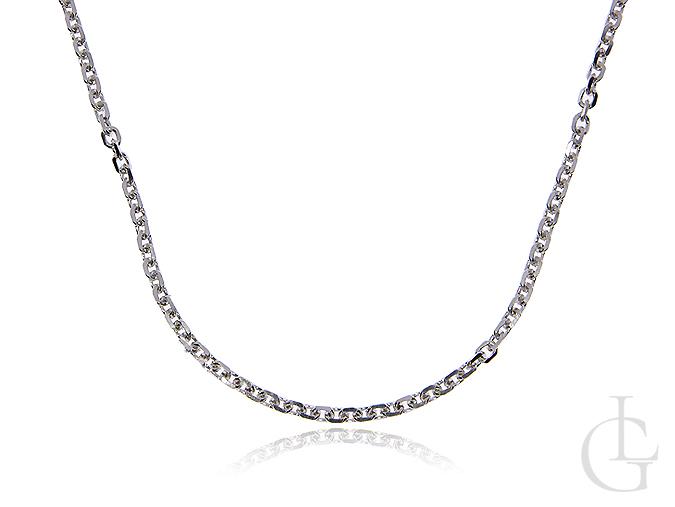 Łańcuszek ze srebra pr.0,925 o splocie ANKIER