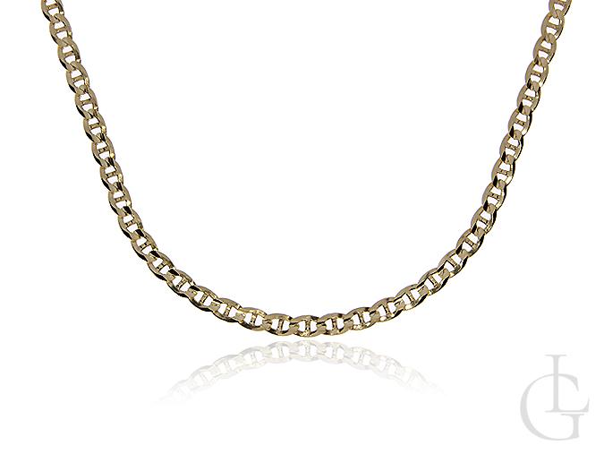 Złoty łańcuszek pr.0,585 pełny splot GUCCI
