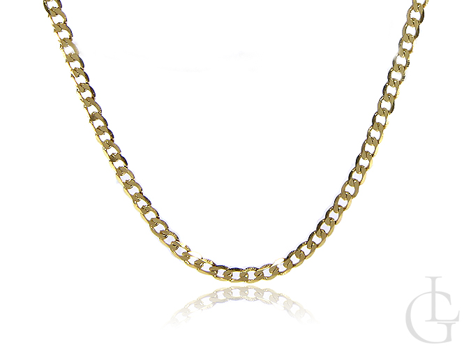 Łańcuszek złoty pr.0,585 splot pancerka