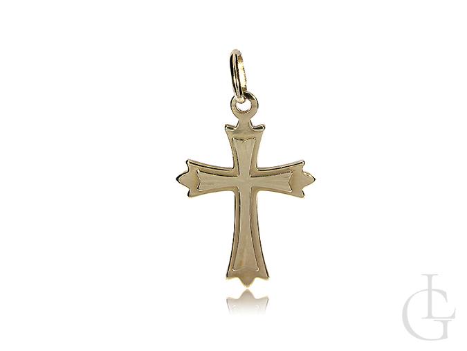 Krzyżyk złoty na łańcuszek