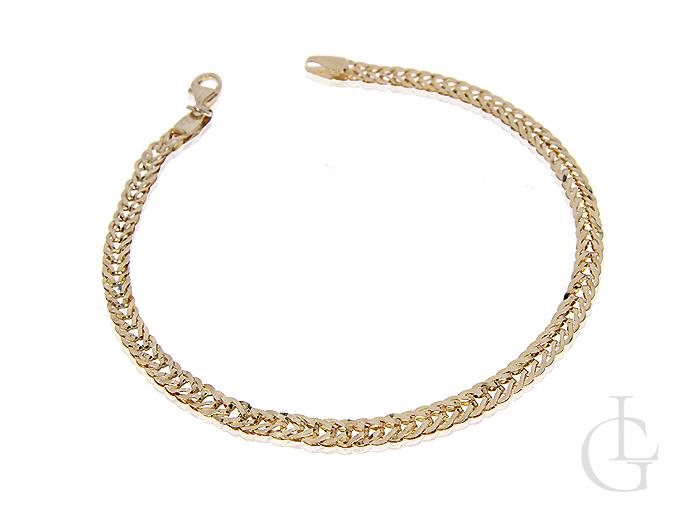 Bransoletka złota łańcuszkowa