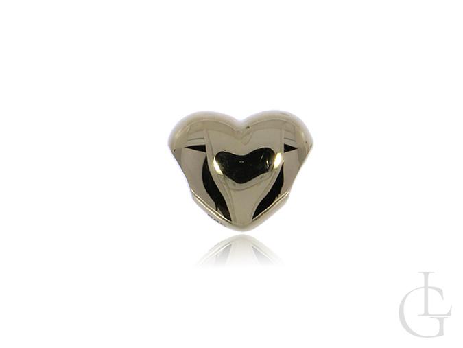 Złoty wisiorek charms beads złoto pr.0,585 do łańcuszka bransoletki