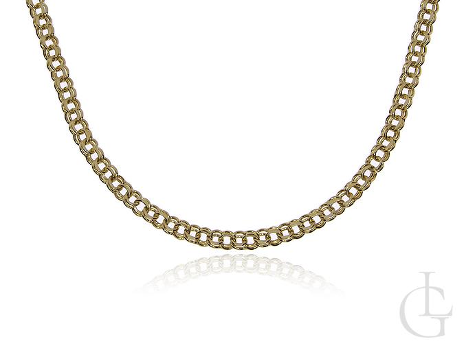 Złoty łańcuszek pr.0,585 o splocie GALIBARDI