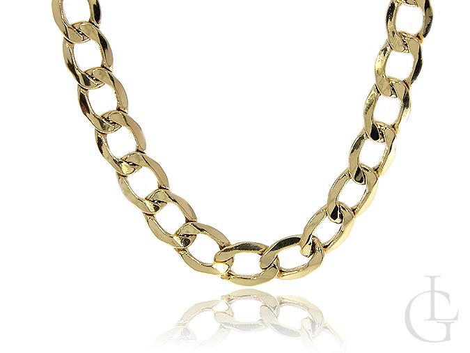 Łańcuszek ze złota pr.0,585 klasyczna pancerka