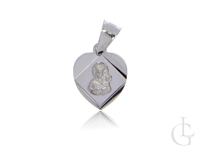 Medalik ze srebra pr.0,925 z Matką Boską Częstochowską