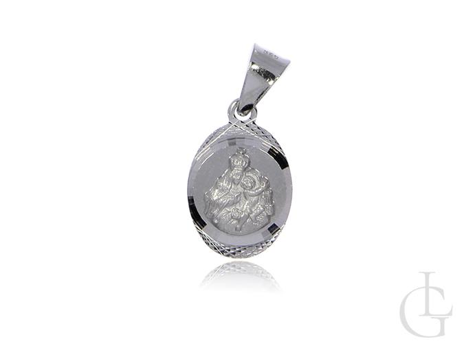 Medalik Szkaplerz srebro rodowane pr.0,925