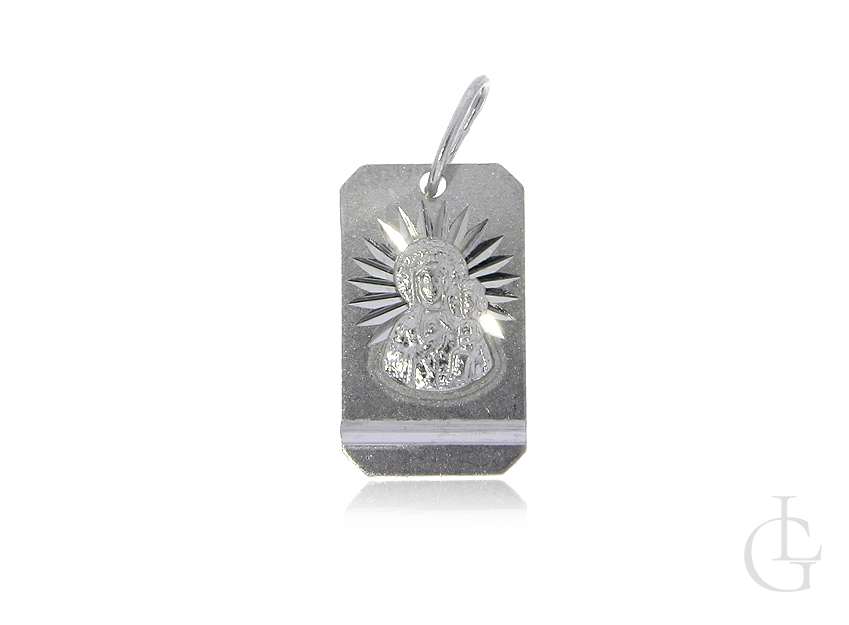 Medalik srebrny pr.0,925 Matka Boska Częstochowska