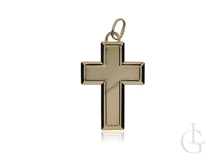 Krzyżyk ze złota pr.0,585 klasyczny wzór