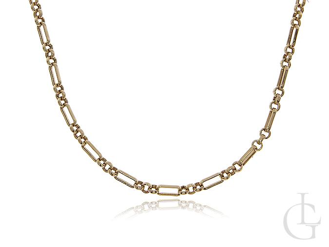 Łańcuszek z klasycznego złota pr.0,585