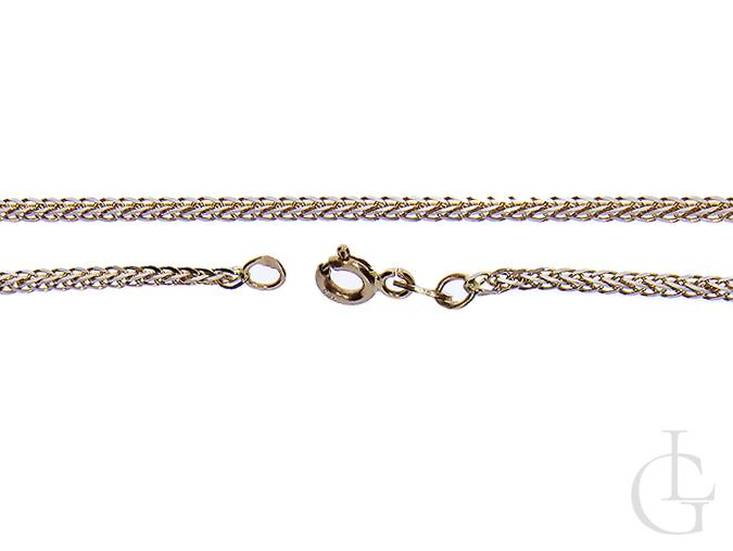 Ekskluzywny złoty łańcuszek złoto pr. 0.585 14K lisi ogon złoto