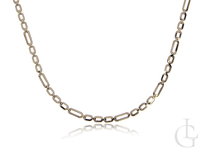 Łańcuszek damski ze złota pr.0,585 o ciekawym splocie