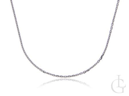 Srebrny łańcuszek pr.0,925 o splocie ANKIER