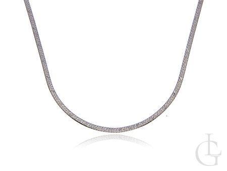 Damski łańcuszek srebrny pr.0,925 splot TAŚMA