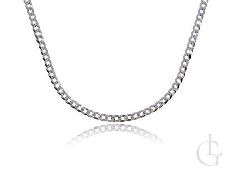 Srebrny łańcuszek pr.0,925 pełny splot PANCERKA doamentowana