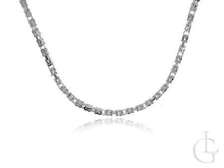 Łańcuszek ze srebra pr.0,925 pełny splot KRÓLEWSKI