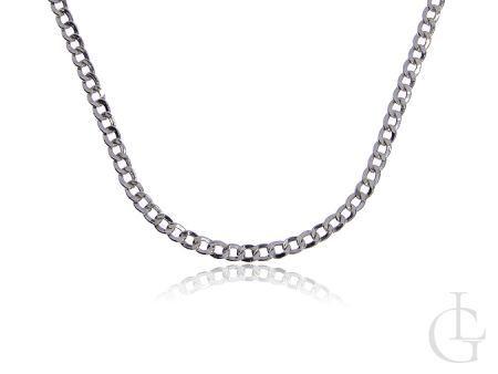 Srebrny łańcuszek pr.0,925 dmuchany splot Pancerka