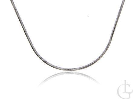 Łańcuszek srebrny pr.0,925 damski pełny splot LINKA