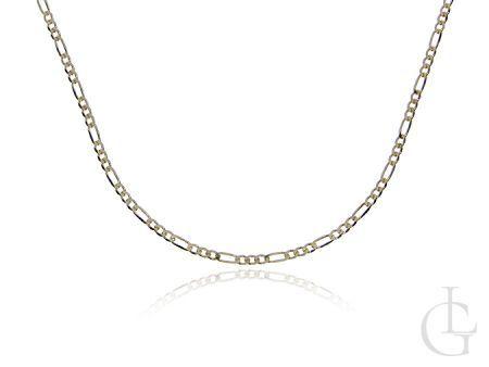 Złoty łańcuszek o pełnym splocie FIGARO
