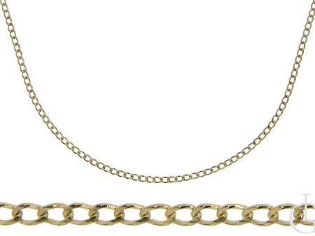 Złoty łańcuszek pr.0,585 o splocie PANCERKA na prezent
