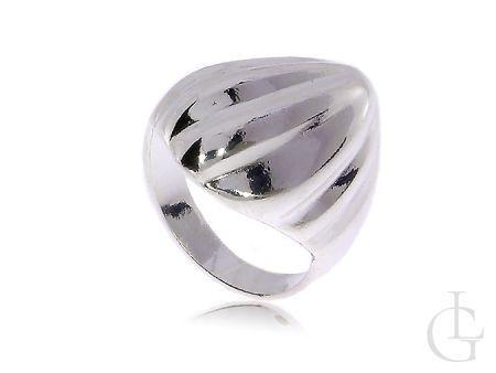 Pierścionek srebrny damski