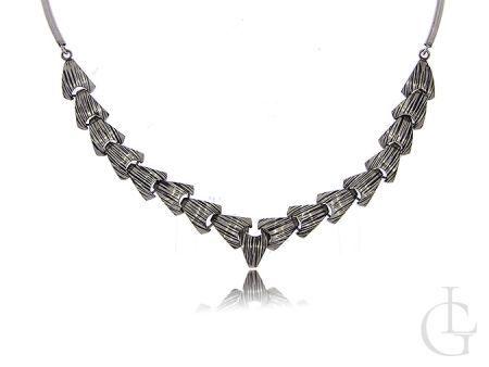 Ekskluzywny srebrny naszyjnik damski srebro 0.925