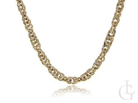 Łańcuszek złoty pr.0,585 gruby SINGAPUR na prezent