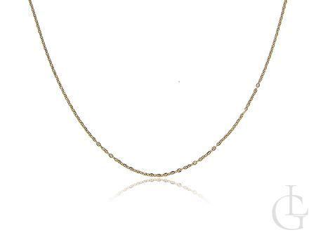 Damski łańcuszek złoty pr.0,585 GUCCI na prezent