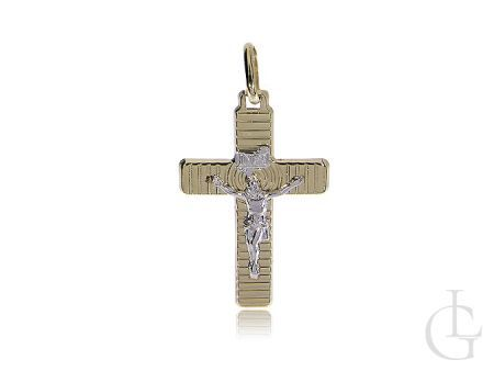 Krzyżyk złoty z Panem Jezusem