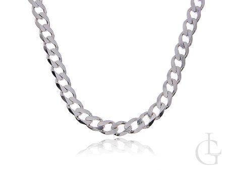 Łańcuszek ze srebra pr.0,925 o splocie PANCERKA