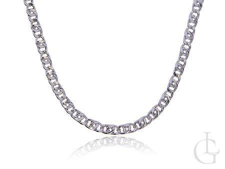 Łańcuszek ze srebra pr.0,925 o ciekawym splocie TIGRA