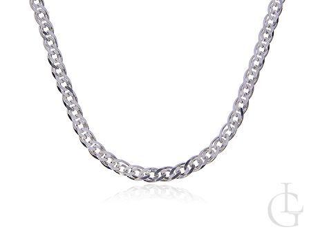 Srebrny łańcuszek pr.0,925 o splocie MONA LISA
