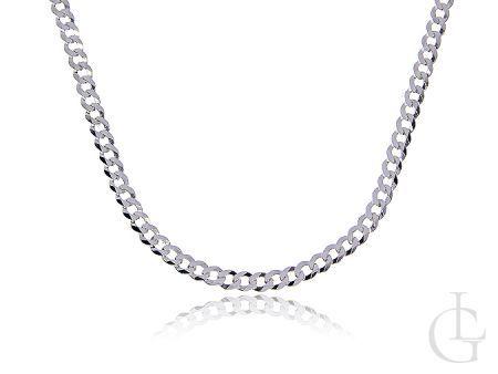 Łańcuszek ze srebra pr.0,925 o pełnym splocie PANCERKA