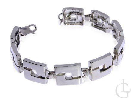bransoleta ze srebra pr.0,925 elegancka na prezent