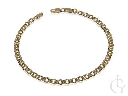 Złota bransoletka łańcuszkowa pr.0,585 o splocie GALIBARDI