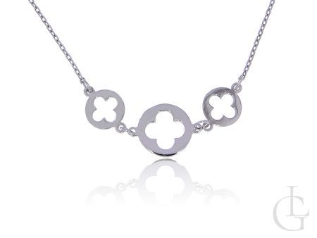 Srebrny naszyjnik łańcuszek celebrytka pr.0,925 ze srebra rodowanego