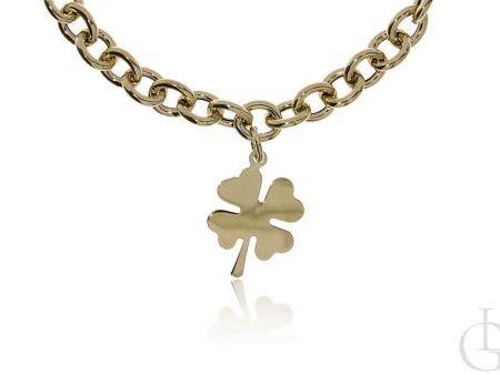 Naszyjnik łańcuszek choker ze srebra pr.0,925 w całości pozłacanego 18 ct złotem